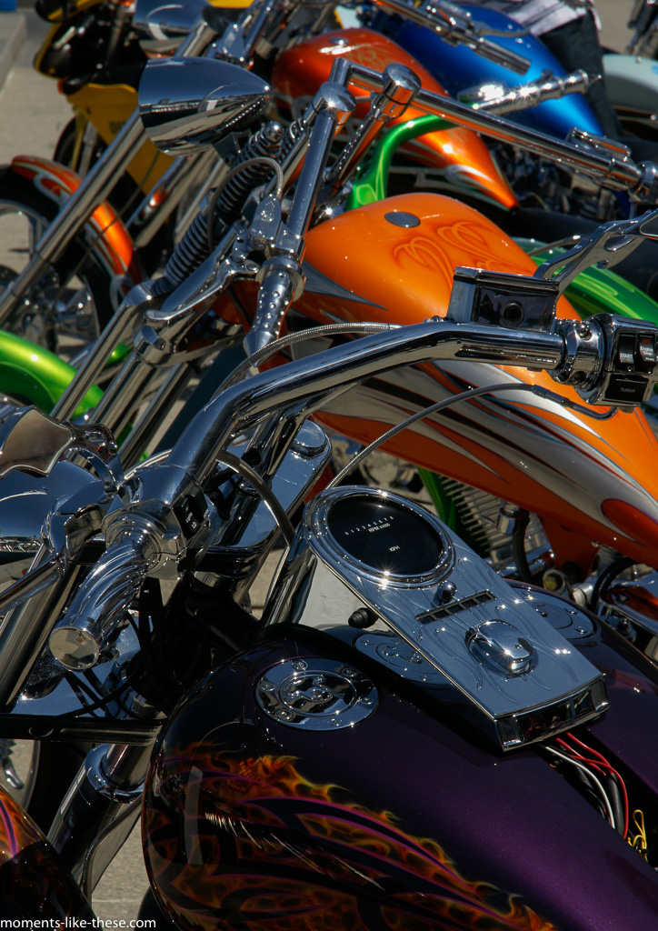 Motorcycle colourfulness