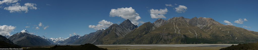 Mount Cook and the Tasman Valley