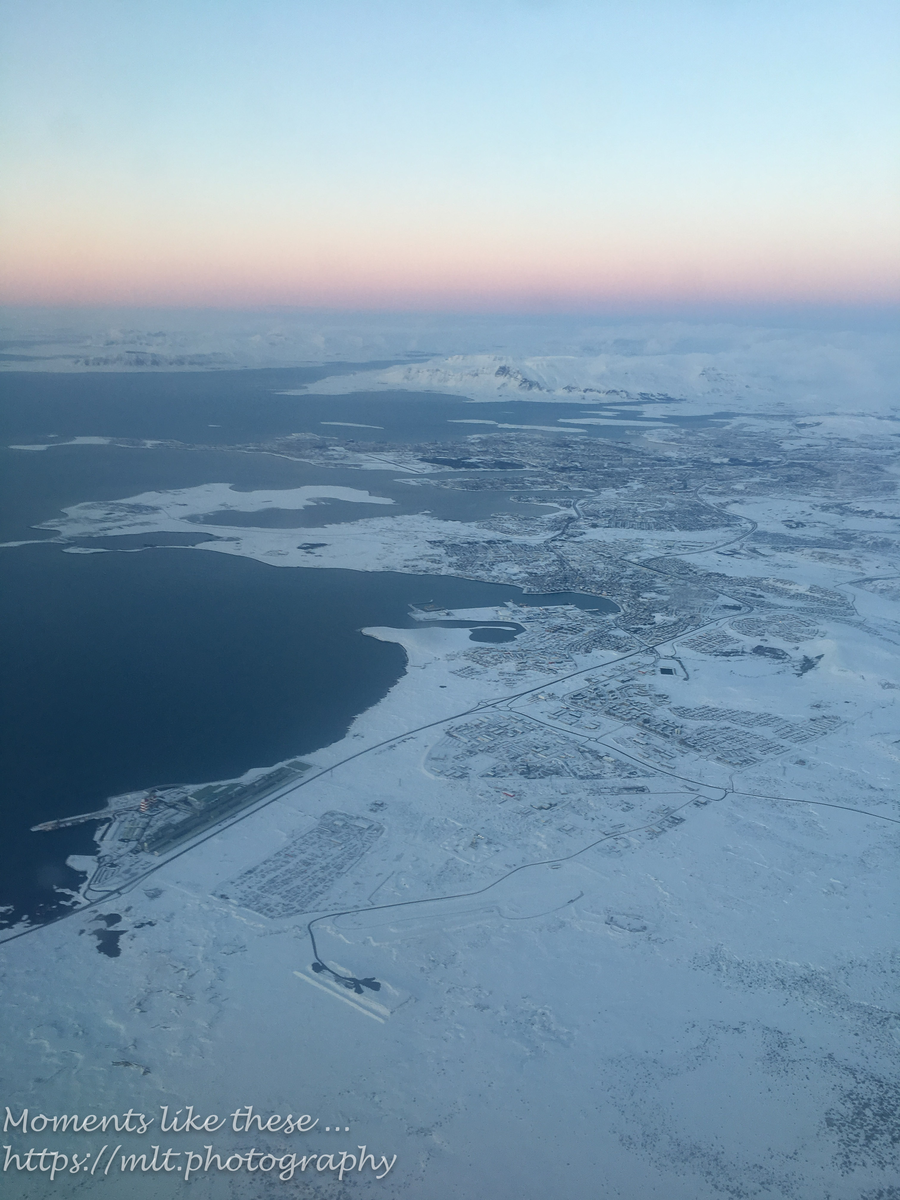 Reykjavik from the air